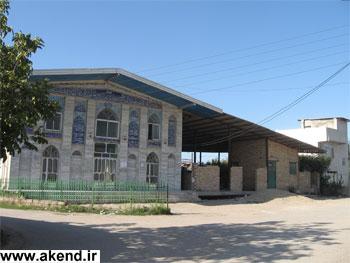 مسجد جامع آکند و مهدیه در حال ساخت