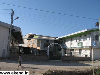 حسینیه و مسجد روستای آکند